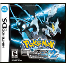 Pokemon Black Version 2 - Ds / Dsi / 3ds - Impecável !!