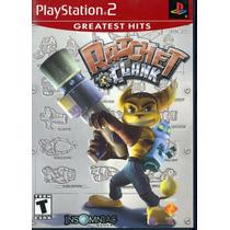Ratchet & Clank Ps2 Jogo Novo Original Lacrado Com Nota