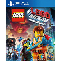 Jogo Lacrado The Lego Movie Videogame Playstation 4
