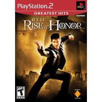 Jet Li Rise To Honor - Ps2 Original Novo & Lacrado!