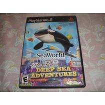 Sea World Adventure Park Original Completo Americano Ps2