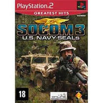 Game Ps2 Socom 3 U.s. Navy Seals Compre Ja Me