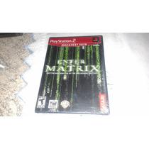 Enter The Matrix Novo Lacrado Original Playstation 2 Usa