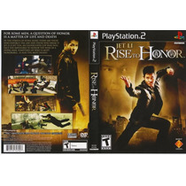 Playstation 2 - Jet Li ¿ Rise To Honor { Original }