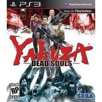 Jogo Americano Sega Yakuza Dead Souls Para Playstation 3 Ps3