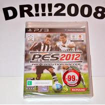 Pes 2012 Original Para Ps3!!! Novo E Lacrado