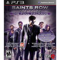 Jogo Saints Row The Third The Full Package Lacrado Para Ps3