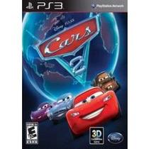 Jogo 3d Lacrado Disney Cars Carros 2 Para Ps3 Playstation 3