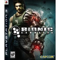Jogo Americano Da Capcom Bionic Commando Para Ps3 Play3