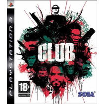 Game Ps3 The Club