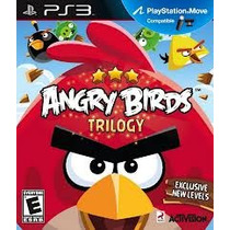 Jogo Lacrado Angry Birds Trilogy Para Playstation Ps3 Move