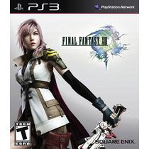 Final Fantasy Xiii - Ff 13 - Ps3 - Novo E Lacrado
