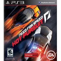 Need For Speed Hot Pursuit Ps3 Lacrado De Fábrica