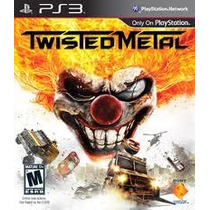 Jogo Lacrado Twisted Metal Limited Edition Ps3 Playstation 3
