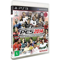 Game Pro Evolution Soccer 2014 - Ps3 + Game Pro Soccer 2013