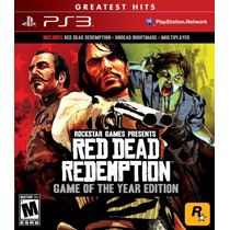 Red Dead Redemption Goty Game Of The Year Edition - Ps3