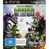 Plants Vs Zombie Garden Warfare - Ps3 - Psn - Riosgames