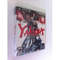 Yakuza Dead Souls - Ps 3 - Lacrado - Americano