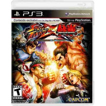 Ps3: Street Fighter X Tekken - Jogo Original E Lacrado