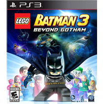 Lego Batman 3: Beyond Gotham Ps3 Portugues Original Lacrado