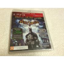Batman Arkham Asylum - Game Of The Year Edition (lacrado)