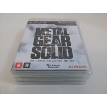 Game Metal Gear Solid: The Legacy Collection 1987-2012 - Ps3
