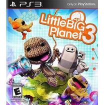 Little Big Planet 3 - [em Portugues] - Ps3 [novo E Lacrado]