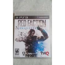 Jogo Sony Ps3 Red Faction Armageddon Lacrado Original
