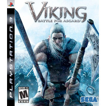 Ps3 * Viking Battle For Asgard * Usado * No Rj