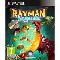Rayman Legends. 100% Em Português. Novo. Para Ps3.
