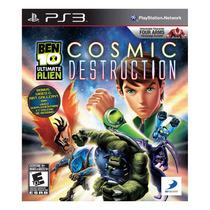 Ben 10 Ultimate Alien Cosmic Destruction Jogo Infantil Ps3