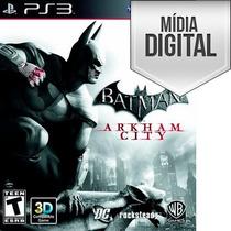 Batman Arkham City Ps3 Psn Português Envio Agora Psn