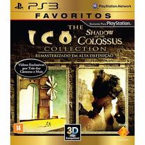 Jogo Ps3 Ico & Shadow Of The Colossus (favoritos)