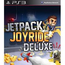Jet Pack Joyride De Luxe Ps3 Psn