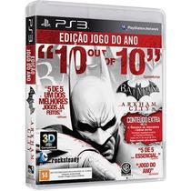 Batman Arkham City Ps3 Português Frete Grátis Pronta Entrega