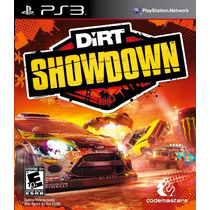 Dirt Showdown - Ps3 Novo Lacrado
