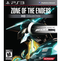 Zone Of The Enders Hd Collection Ps3 Jogo Novo Lacrado