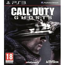 Jogo Novo Lacrado Call Of Duty Ghosts Para Playstation 3