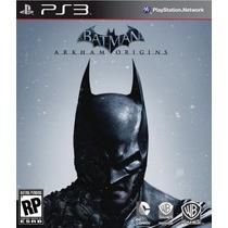 Batman Arkham Origins - Jogo Em Português Para Playstation 3