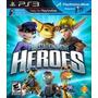 Playstation Move Heroes - Jogo Ps3 Usado