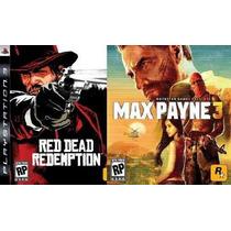 Max Payne 3 + Red Dead Redemption Código Psn Envio Hoje