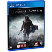 Terra Média Sombras De Mordor Shadow Of Mordor Portugues Ps4