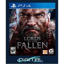 Lords Of The Fallen Ps4 Lançamento 28/10 Código Psn