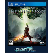 Dragon Age Inquisition Ps4 Código Psn Pré-venda