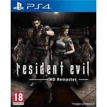 Resident Evil Hd Remaster Ps4 Conta Primária
