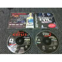 Resident Evil 3 Nemesis + Bonus Disc Original Ps1,ps2 Ps3