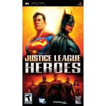 Jogo Umd Liga Da Justiça Para Psp Justice League Heroes