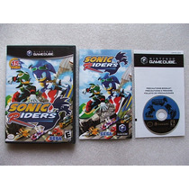 Game Cube: Sonic Riders Americano Completo! Raríssimo! Jogão