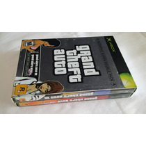 Gta 3 + Vice City Rockstar Double Pack Xbox Original Ntsc