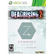 Box Do Jogo Dead Rising 2 Zombrex Edition Para Xbox 360
